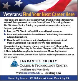 Cdl Motor Vehicle Training Lancaster County Career