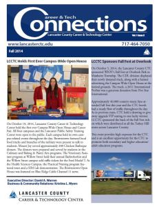 Fall 2014 Newsletter Cover