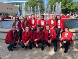 LCCTC Nationals SkillsUSA Team photo