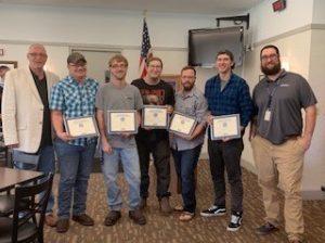 group photo of welding graduates